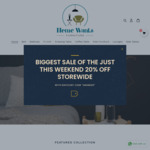 20% off Sitewide @ Home Wants Furniture