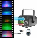Portable Disco Party Night Light Projector $27.99 Delivered (Was $39.99) @ NUANSA Amazon AU
