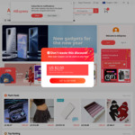 Coupon AliExpress Year 2021 - New Social Media Users. US$4 off US$5 Minimum Spend