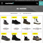 Dr Martens Boots Sale - 1460 Mono Suede $83.99, 1461 Mono Suede $55.99 etc (C&C/+Shipping/Free Shipping $130+) @ Platypus
