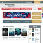 Free Shipping @ Boomerang Books