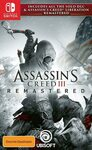 [Switch] Assassin's Creed III Remastered $29 + Delivery ($0 with Prime/ $39 Spend) @ Amazon AU