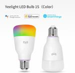 55% off Xiaomi Yeelight Smart Control LED Wi-Fi Bulb1S: Colorful $19.15, White $13.50 + $8 Post ($0 with $100 Spend) @ Yeelight
