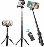 40% off Selfie Stick Tripod $17.92 + Delivery ($0 with Prime/ $39 Spend) @ Ottertooth Direct via Amazon AU