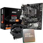 AMD Ryzen 5 3600 AM4 CPU OEM with Wraith Stealth Cooler + MSI B450M Pro M2 MAX Motherboard $299 Delivered @ Shopping Express