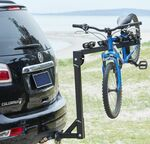 4 Bike Rack Bicycle Foldable Steel Carrier Car Towbar Hitch Mount $69 @ Repco