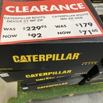 [VIC] Caterpillar Boots Mid Zip Side $71.60 (Was $179), Caterpillar Boots Device CT WP Zip $92 (Was $230) @ Mitre10 (Richmond)