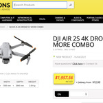 DJI Air 2S Fly More Combo $1957.56 + Delivery/ Free C&C @ JB Hi-Fi Commercial (Membership Required)