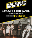 15% off Star Wars Costumes + $8.99 Delivery ($0 with $99 Spend) @ CostumeBox
