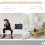 30% off All Furniture, Homeware, Lighting and Decor + Delivery @ Bisque Traders