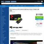 PNY GeForce RTX 3070 XLR8 Revel Epic-X RGB LHR 8GB Graphics Card $1199 + Postage @ PC Case Gear