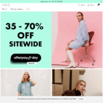 35-70% off Sitewide (e.g. Aylin Dress $39 (Was $129.95), Yisho Dress $39 (Was $149.95)), Free Delivery @ Y.A.S Australia