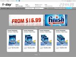 Finish Powerball Dishwasher Tablets - 90PK $22.98 or 360PK $66 Delivered