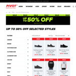 Skechers/Vans/Puma/New Balance Sneakers from $30/$40 + $10 Delivery (Free with $120 Spend) @ Pivot