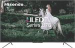 """Hisense 75"""" U7G 4K Smart TV $1,615.50, 65"""" U7G $1,075.50, 75"""" S8 $1,254.60, LG 75"""" NANO86 $2,155.50 + Delivery @ The Good Guys"""