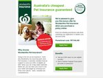 Woolworth Pet Insurance New Applications Include $25 Wishcard Plus 1000 Qantas FF Points