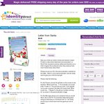 Identity Direct: 1 Cent Personalised Santa Letter for Your Child + $4.99 Postage