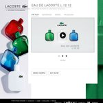 Free Sample of Lacoste Cologne