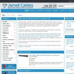 Jamell Cables 15% off w/Coupon Code: EASTER13
