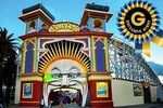 $10 Groupon-Exclusive Event with Unlimited Rides at Luna Park, St Kilda