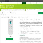 Telstra Pre-Paid 3G USB + Wi-Fi (MF70) Temporary Price Drop from $49 to $29