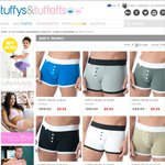 Tuffys & Tuffetts Aussie-Made Boxers/Trunks $9.95 Each Delivered + $10 off $50 Orders Promo Code
