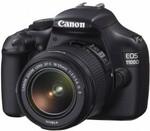 CANON 1100D 18-55mm IS Single Lens Kit DSLR Camera $328 Delivered @ DSE