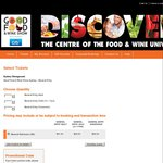 Free Double Pass - Sydney Good Food and Wine Show - General Entry, Any Day, 27th-29th June