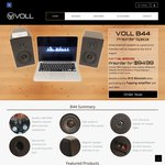 Voll B44 Bookshelf Speakers $95 with Free Shipping to Metro and $4.50 Regional Areas
