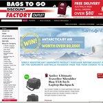 Antler Ultimate Traveller Shoulder Bag 15.6 Inch Laptop Backpack $69.95 AUD +Postage