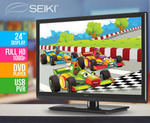 """Seiki Full HD 24"""" LED TV w/ Built-in DVD Player $83.82 + Postage @ COTD"""