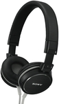 Sony MDRZX600B Black Headphones $35 @The Good Guys