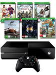 XB1 + Halo + Sunset Overdrive + FIFA 15 + Forza 5 + AC Unity + AC BF $529 @ EB Games