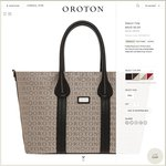 Oroton Stencil Tote Bag, Large. ~80% off @ $95 + $15 Delivery