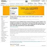 £10 off Any Order Over £50 @ Amazon UK