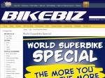 "Bikebiz ""World Superbike Special"" up to 20% off in store or online"