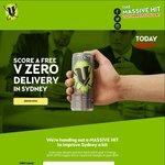Free V Zero Energy Drink - Sydney/Melbourne/? CBD