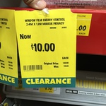 Bunnings Window Film Energy Control 2.4x 1.2m Mirror Privacy $10 Normally $40.90