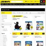 JB Hi-Fi: Selected Blu Rays 3 for $40