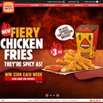 Hungry Jacks 'Shake N Win' App - Free Fries/Coke/Frozen Coke/OJ/Espresso/Soft Serve (Windows/Android/iOS)