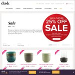 Additional 25% off Already Reduced Items at Dusk