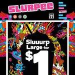 Large Slurpee - $1 @ 7-Eleven