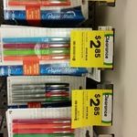 Paper Mate Flair Felt Tip Pens 4pk for $2.85 (Save $8.65), or 8pk for $5 (Save $15) @ Woolworths Harbour Town, SA