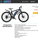 Kupper Unicorn Pedelec AU $1300 (Was AU $1695) @ Kupperbike with Free Shipping