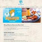 10¢ Chicken Wings, 28/7, 5-6PM @ Bavarian Bier Café & Munich Brauhaus (NSW, QLD, VIC)
