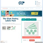 69 Labels Pantry Pack - Just Pay $3.99 P&H from Hippo Blue