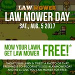 Get a Free Copy of PC Game Law Mower by Tweeting out Your Freshly Cut Lawn with Tweet #Lawmowerday and @ScoriaStudios
