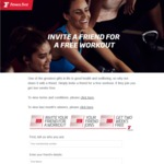 20% off Fitness First Membership with Referral Code