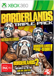 Borderlands Triple Pack for Xbox 360 $4 C&C or + Post @ EB Games