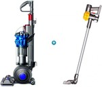 Dyson V6SLIM Cordless Handstick + Dyson Small Ball Allergy Upright Vacuum Cleaner $698+Delivery @ Harvey Norman